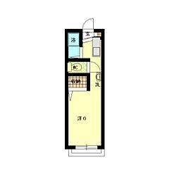パインズハウス[1階]の間取り