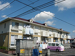埼玉県久喜市栗原4丁目の賃貸アパートの外観