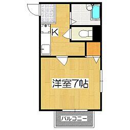 ロイヤルヴィンテージ三十三間堂[2階]の間取り