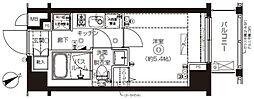ZOOM上板橋[3階]の間取り
