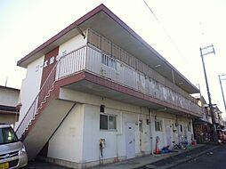 東京都羽村市緑ヶ丘3丁目の賃貸マンションの外観