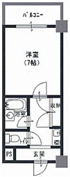 アネックス木の国 中新開2 吉田8分[3階]の間取り