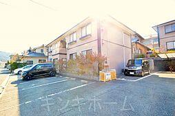 広島県広島市安芸区矢野南4丁目の賃貸アパートの外観
