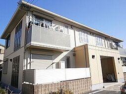 大阪府茨木市高田町の賃貸アパートの外観
