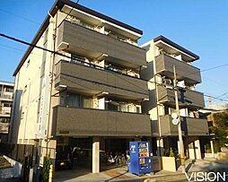 埼玉県さいたま市中央区上落合3-の賃貸マンションの外観
