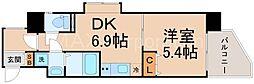 ウィルドゥ十三東1st[6階]の間取り