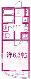神奈川県川崎市宮前区有馬2丁目の賃貸マンションの間取り