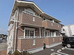 千葉県柏市篠籠田の賃貸アパートの外観
