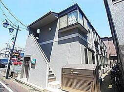 ホワイトハウスフジミB[1階]の外観