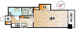プレステージ・デル・エアポート[8階]の間取り