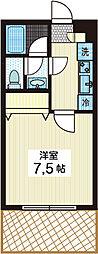 セテトワール[1階]の間取り