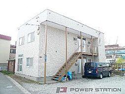 コーポ勝納[2階]の外観