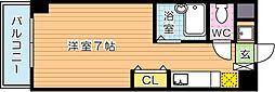 サニーベール前田[5階]の間取り