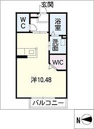 AC岡崎II[1階]の間取り