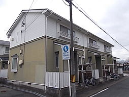 愛知県名古屋市西区比良2丁目の賃貸アパートの外観