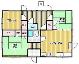 鈴木アパート[1階]の間取り