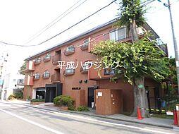 東京都新宿区市谷加賀町2丁目の賃貸マンションの外観