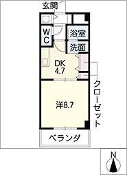 ACCESS28[4階]の間取り