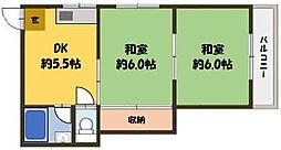 シャンボール池田[3階]の間取り