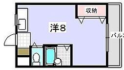 新和光マンション[3階]の間取り