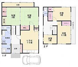 [一戸建] 神奈川県横須賀市佐野町2丁目 の賃貸【/】の間取り