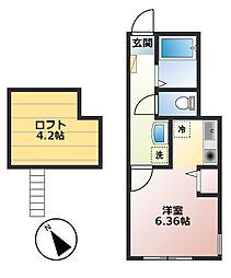 仮)小山1丁目新築物件[105号室]の間取り