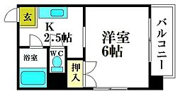 東陽ビル[3階]の間取り