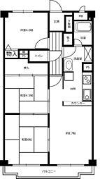メゾン前田[102号室号室]の間取り