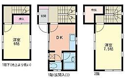 [テラスハウス] 神奈川県横浜市緑区三保町 の賃貸【/】の間取り