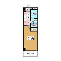 ミッドランドメンバーズ[7階]の間取り