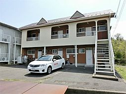 滋賀県蒲生郡日野町大字西大路の賃貸アパートの外観