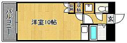 Kステーション八田(初期費用オトクプラン)[2階]の間取り