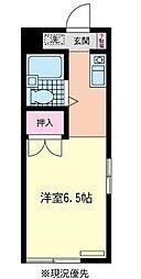 アドバンス湘南II[201号室]の間取り