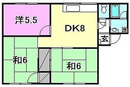 フローラル和泉[A202 号室号室]の間取り