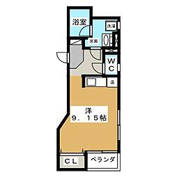 スペース テン[2階]の間取り