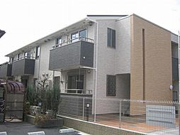 兵庫県尼崎市上坂部2丁目の賃貸アパートの外観
