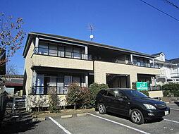 茨城県土浦市乙戸南3丁目の賃貸アパートの外観