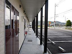 兵庫県姫路市飾東町佐良和の賃貸アパートの外観
