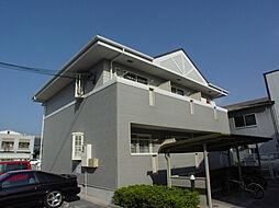 兵庫県姫路市北条宮の町の賃貸アパートの外観