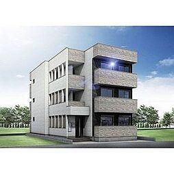 (仮称)幸心2丁目新築アパート B棟[1階]の外観