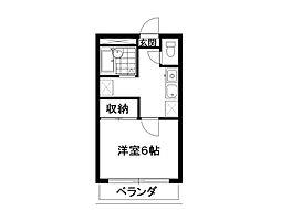ロイヤルシャルムIII[305号室]の間取り