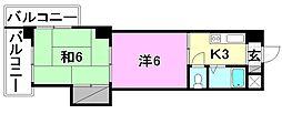 池田ビル[503 号室号室]の間取り