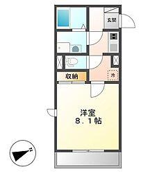 ヴィーナス25[2階]の間取り