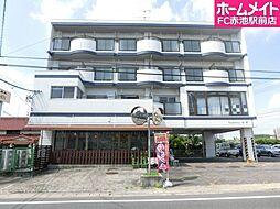 愛知県日進市藤枝町小六田の賃貸マンションの外観