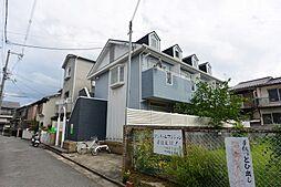 大阪府枚方市町楠葉2丁目の賃貸アパートの外観