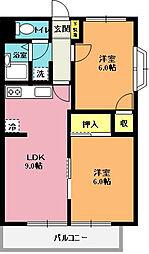 藤井マンション[103号室]の間取り