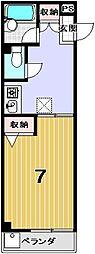 メゾンM[103号室]の間取り