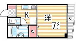 プラネット2[205号室]の間取り