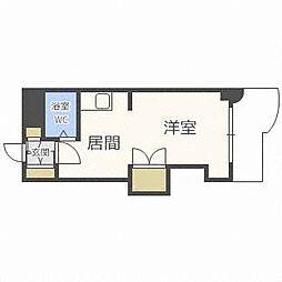 OMレジデンス円山[2階]の間取り