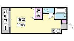兵庫県三木市大村の賃貸マンションの間取り